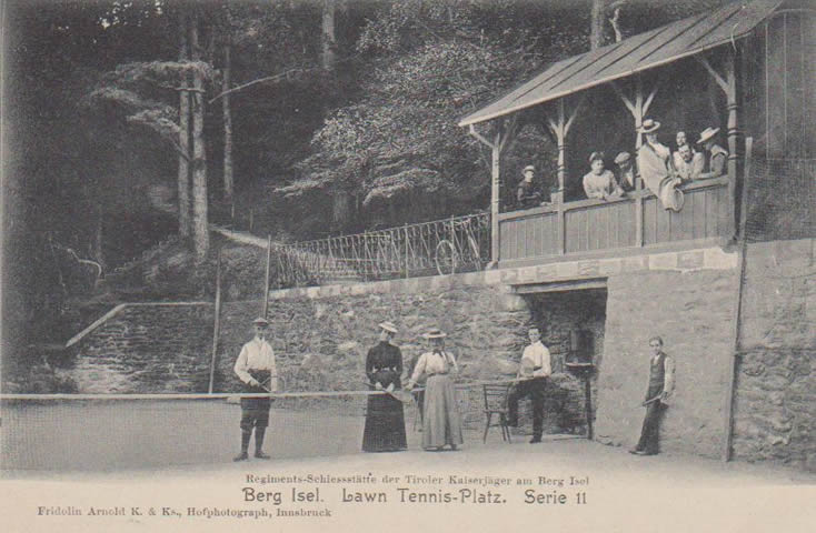 Lawn-Tennis am Berg Isel
